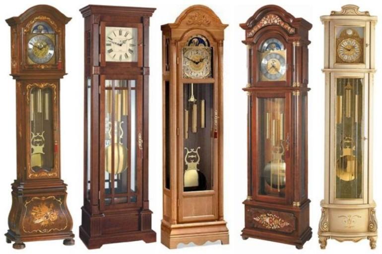 Напольные часы как элемент декора в интерьере.