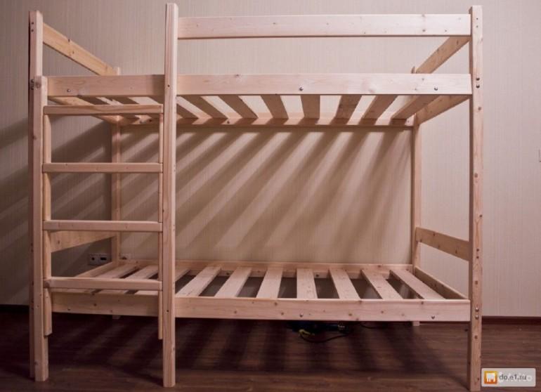 Пошаговая схема двухъярусной кровати для взрослых своими руками