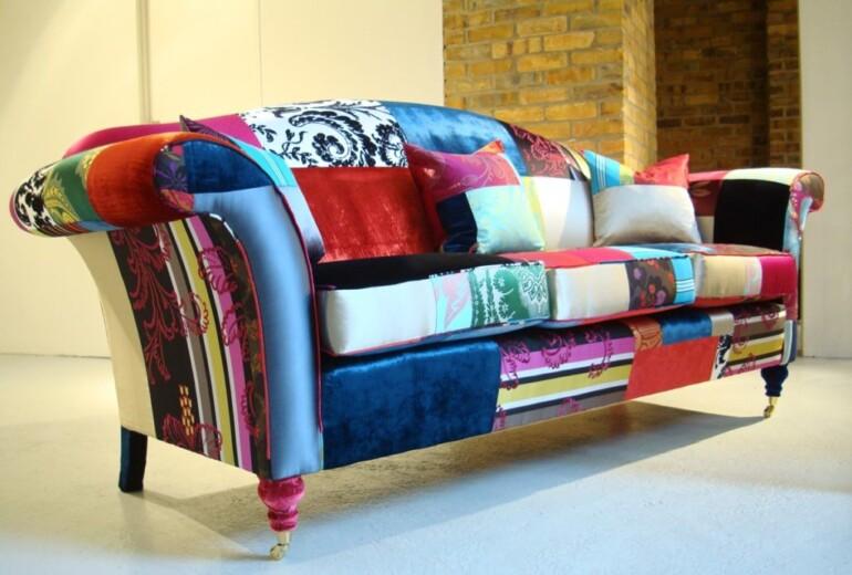 Как перетянуть старый диван без помощи мастера и сэкономить приличную сумму