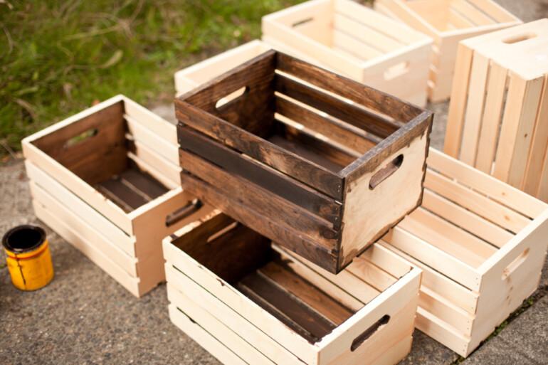Утилизируем старые ящики с пользой: несколько оригинальных идей