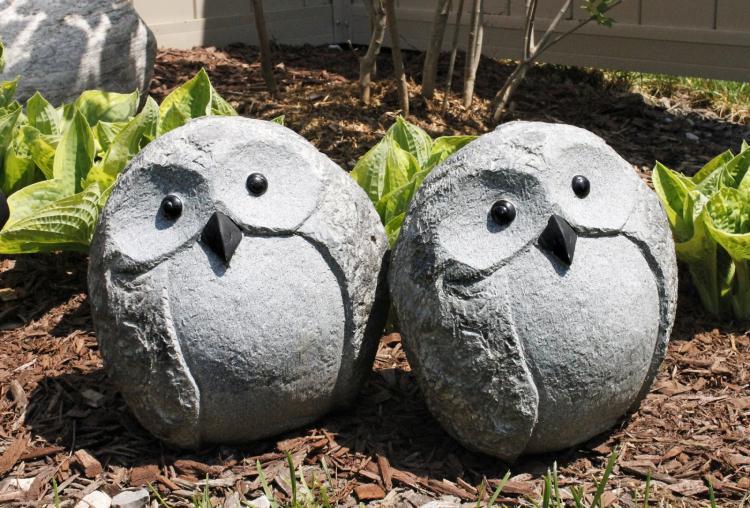 Красивые и необычные фигуры из цемента для украшения сада своими руками