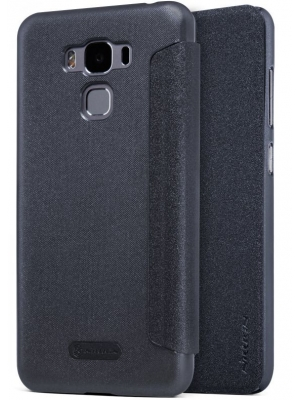 Чехол для Asus ZenFone 3 Max ZC553KL Nillkin Sparkle Leather Case Черный